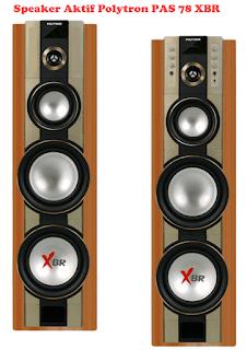Harga Speaker Aktif Polytron PAS 78 XBR