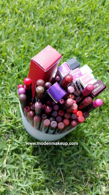 Lip liner stash - www.modenmakeup.com
