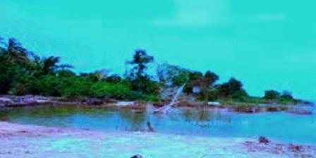 Pantai Motong di meranti riau