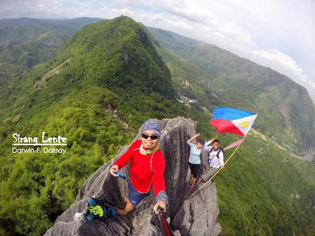 On the summit of Mt. Haponang Banoi