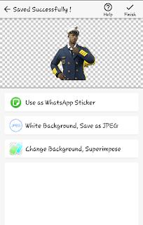 cara menghapus background foto/gambar dengan android
