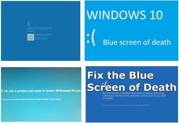 How Webs: Windows 10 Blue Screen Fix Error | How to Repair