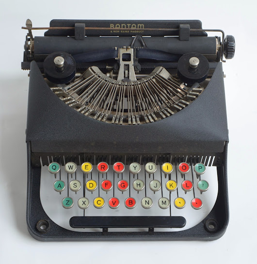 You Can Teach Yourself Great Things: Martin Luther King's Typewriter (when he was eleven)