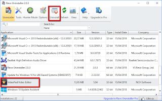 Cara Remove program Aplikasi sampai bersih di Windows