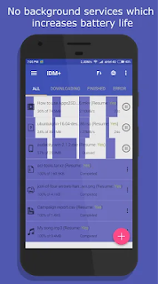 تحميل IDM+ Fastest download manager مهكر