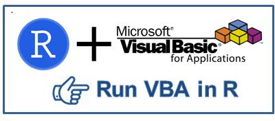 Run VBA in R