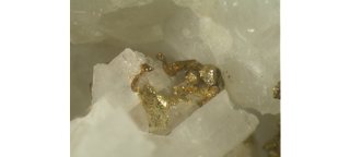 minerals associated with gold