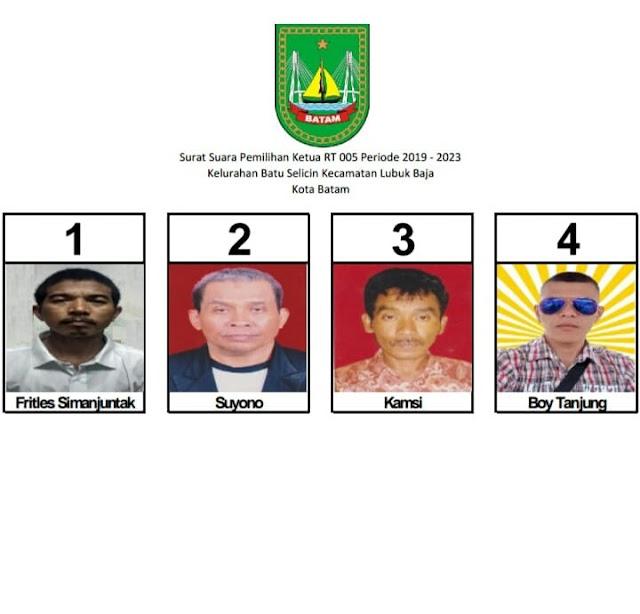 Pemilihan Ketua RT Terkesan Tampil Beda