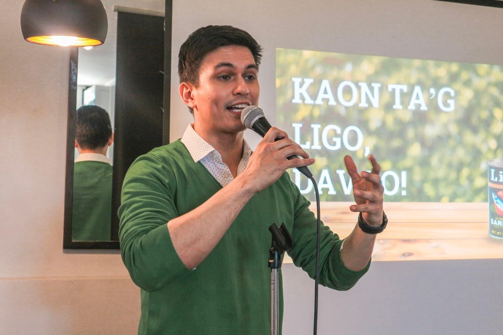 Ligo Ambassador Tom Rodriguez