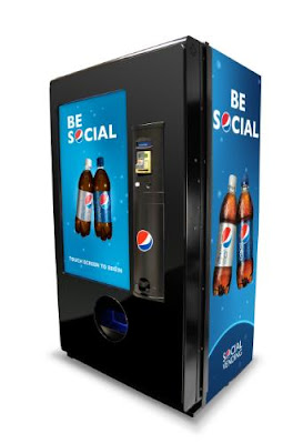 PepsiCo social vending machine