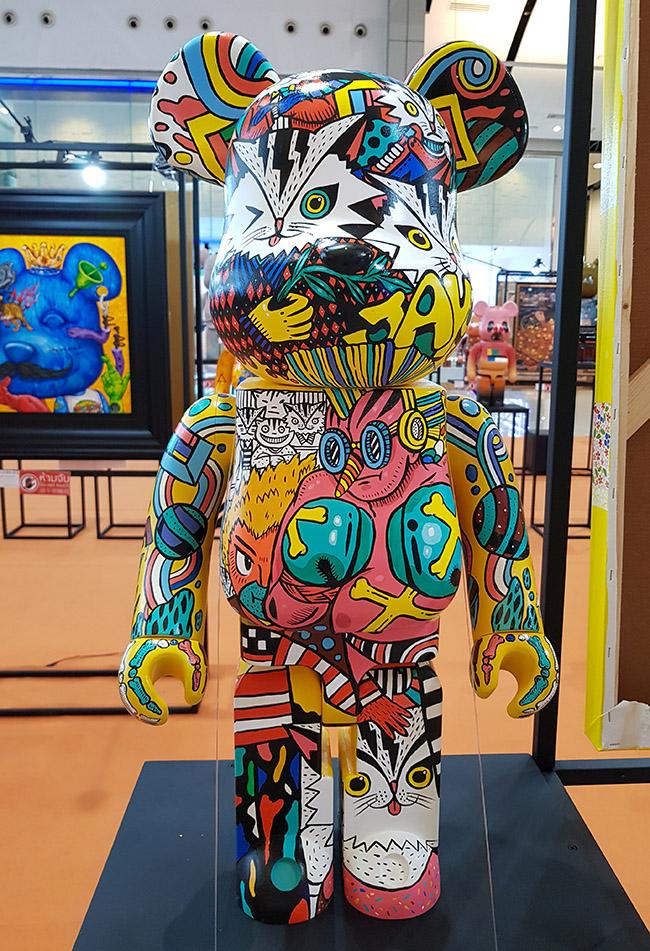 Jayoto - Color Me Bear 2018 designer Be@rBrick toy