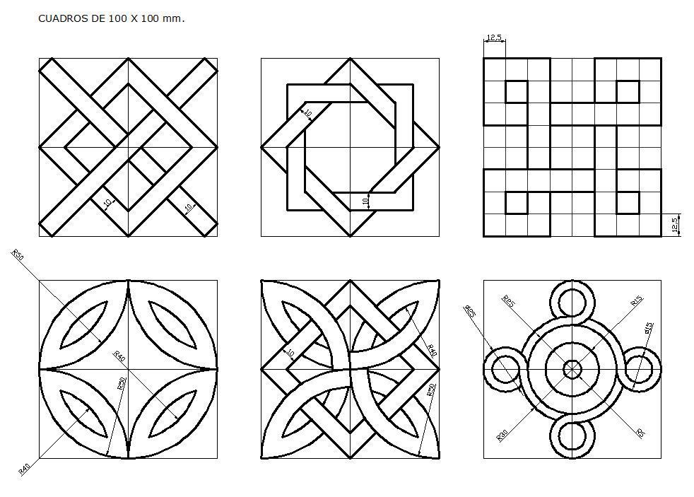 Dibujo técnico: Nueva lámina TRAZOS Y MEDICIÓN 2012
