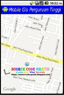 Download Gratis Source Code Aplikasi Mobile GIS Lokasi Perguruan Tinggi
