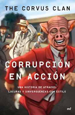 LIBRO - Corrupción en acción : The Corvus Clan (Martinez Roca - 10 enero 2017) Edición papel & digital ebook kindle YOUTUBER | Comprar en Amazon España