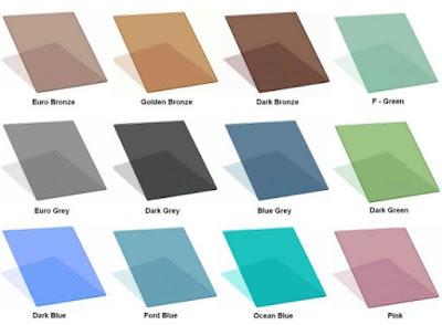Kaca berwarna (Tinted Glass)