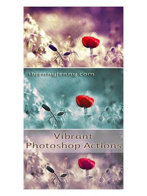 VIBRANT PHOTOSHOP ACTIONS