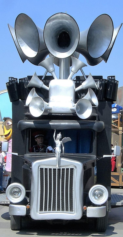 Noise truck.