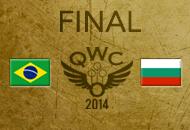 Finale della Coppa del Mondo di Quidditch 2014 - Brasile v Bulgaria