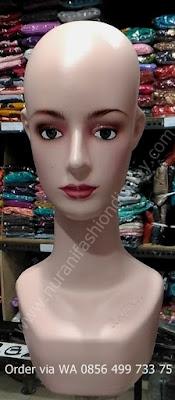 Manekin Kepala Wanita Ratna