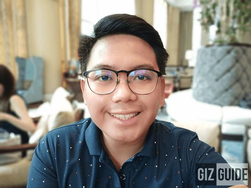 Selfie bokeh 1