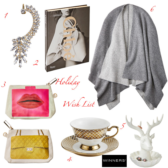 WINNERS holiday gift guide wish list Vancouver fashion blogger