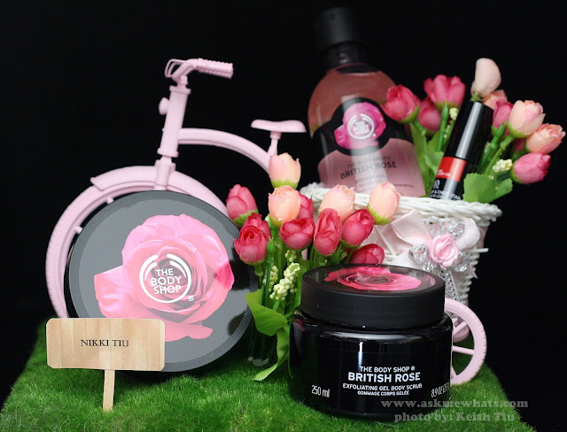 a photo of The Body Shop British Rose Collection