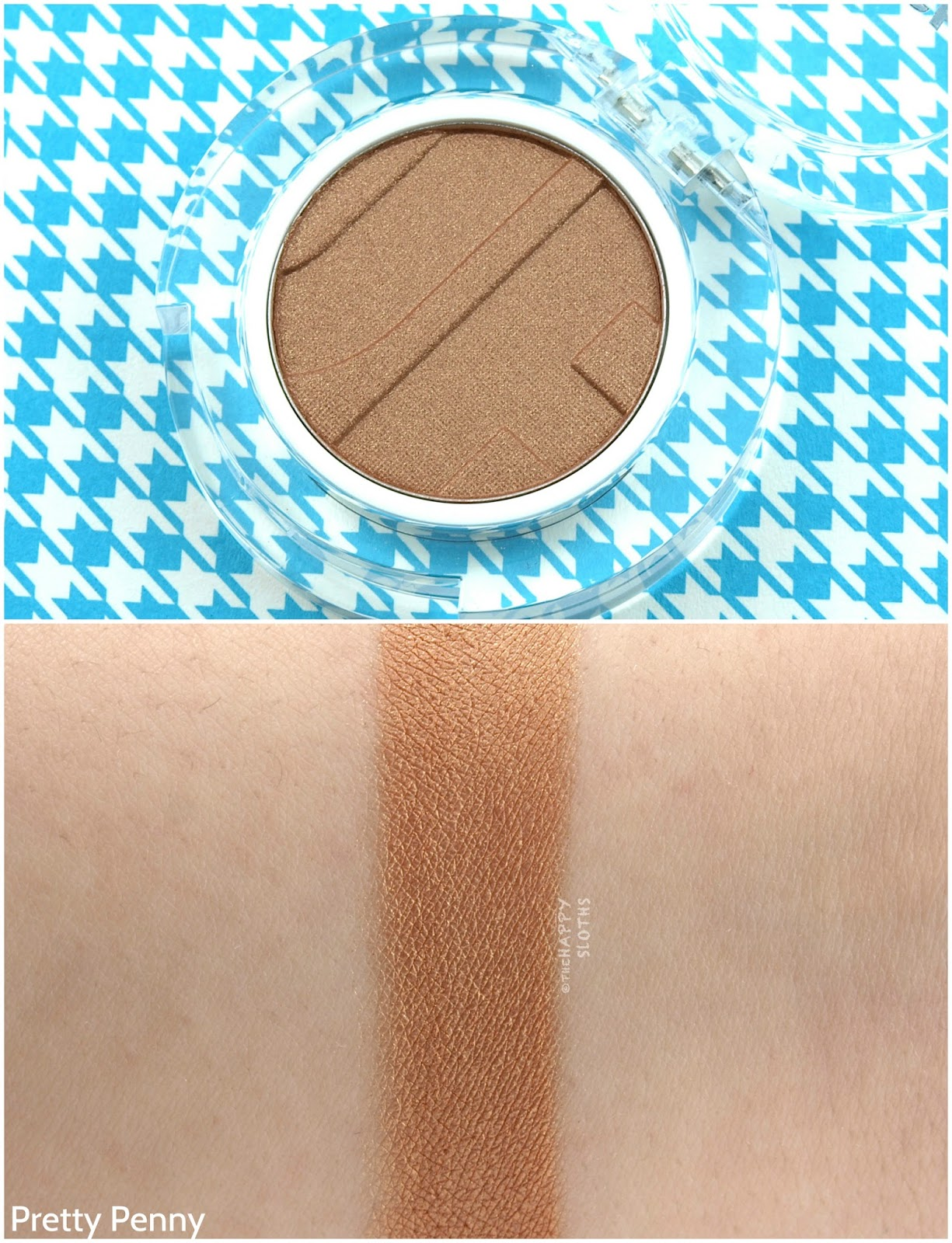 Joe Fresh Beauty Single Eyeshadow in Pretty Penny: Review and Swatches