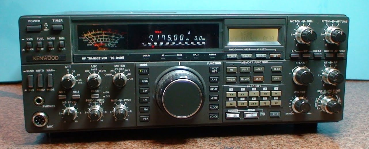 Pro Radio Club - News Technology: Kenwood TS-940S HF Transceiver