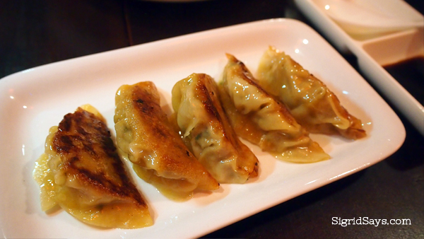 Bacolod dumplings - Bacolod restaurants - Izumi Japanese Kitchen