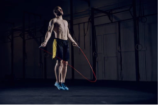Warm up jumping rope