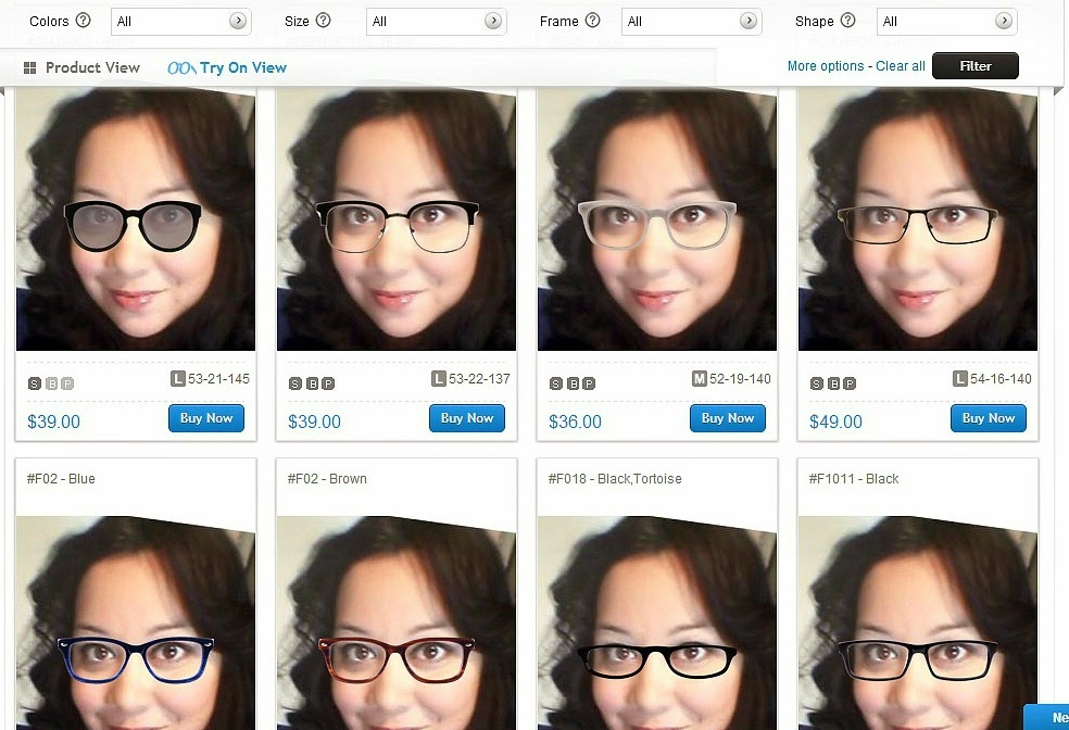 f8d94732a2 CurviMamiPetite  To See or Not To See  My New Eyeglasses from ...
