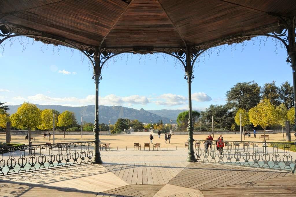 Valence Parc de Jouvet, Valence, La Drome, Frankrijk
