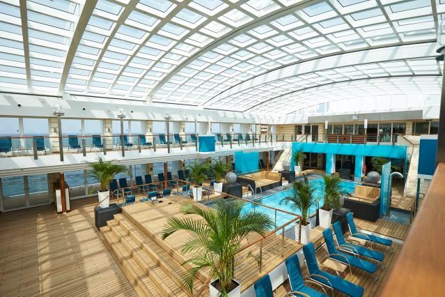 Luxus Kreuzfahrt mit MS EUROPA 2 (C) Hapag-Lloyd Cruises