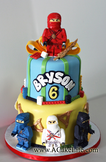 Brysons Mom Tammy Came To Us With A Special Request For His 6th Birthday Cake Ninjago Someone Who Doesnt Have Kids We Had Do Little
