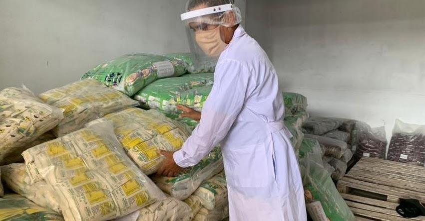 QALI WARMA: Programa social distribuye más de 102 toneladas de alimentos en la región San Martín como parte de la cuarta entrega en la modalidad productos - www.qaliwarma.gob.pe