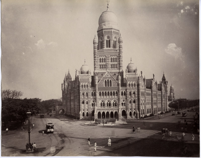 Beautiful Architechture in Bombay (Mumbai) - c1890's