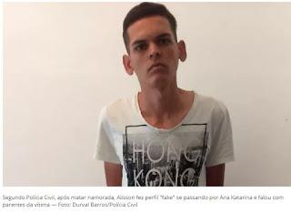 Juíza decreta prisão preventiva de suspeito de matar a namorada e queimar o corpo, em Soledade