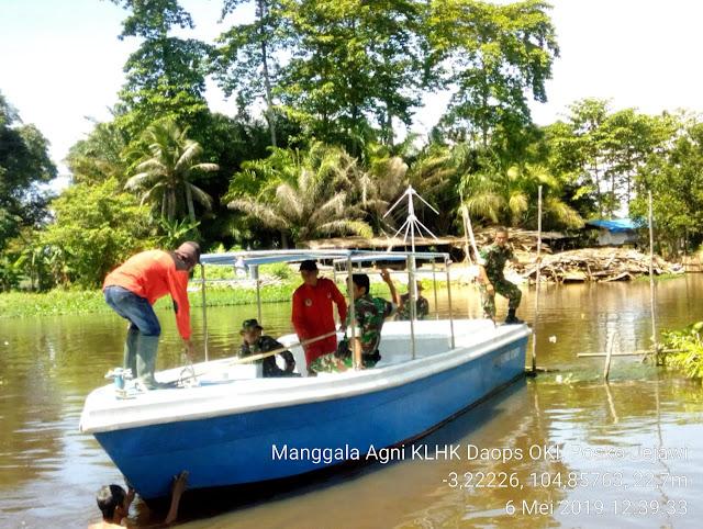 Cegah Karhutbunla, Koramil 402-03/SP  Padang Lakukan Patroli
