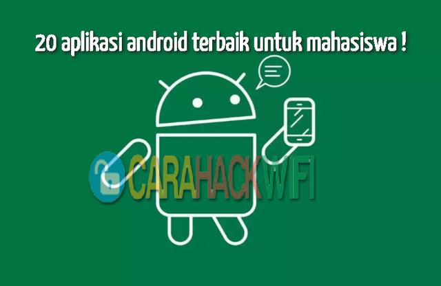 20 aplikasi android terbaik untuk mahasiswa