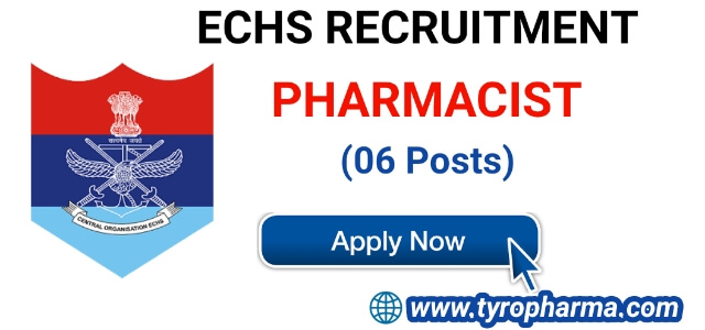 ECHS Recruitment for Pharmacist - Latest Pharmacist Job at ECHS 06 Posts