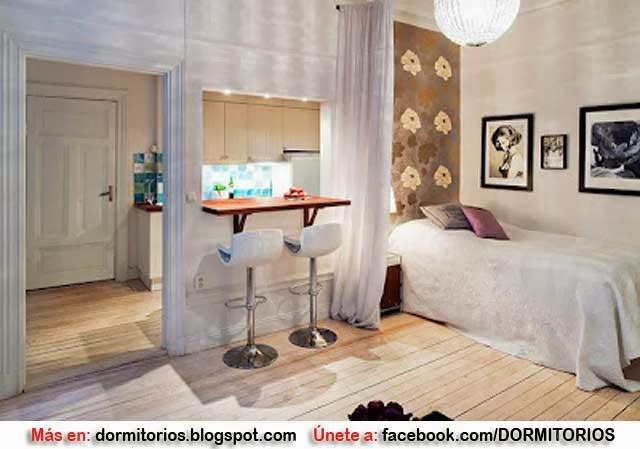 Puedes obtener ideas monoambientes en fotos de planos for Decoracion casa 50m2