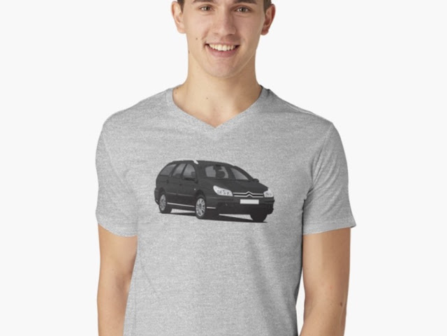 Citroën C5 Break t-shirts