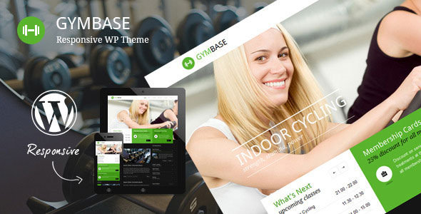 GymBase v11.6 – Responsive Gym Fitness WordPress Theme Download