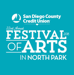 Don't Miss the 2018 SDCCU North Park Festival of Arts - May 12!