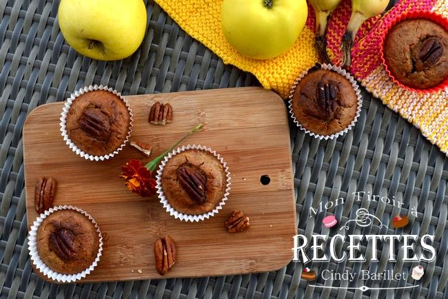 muffins pomme châtaigne