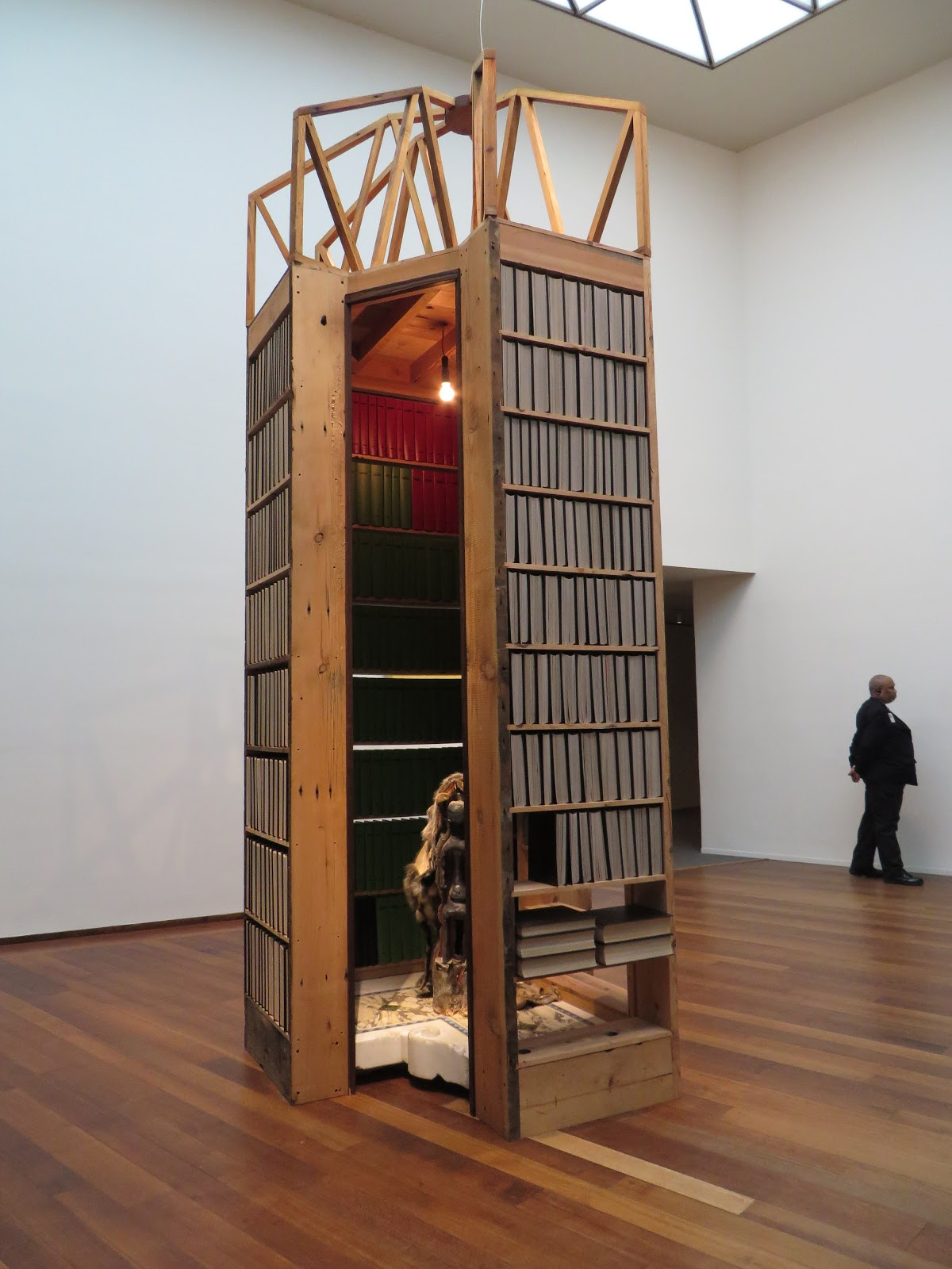 Stunning Theaster Gates at the National Gallery of Art Feb Photo by Patricia Leslie