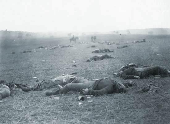 campo de batalla de Gettysburg