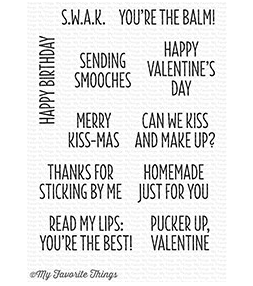 MFT Sending Smooches Stamp Set
