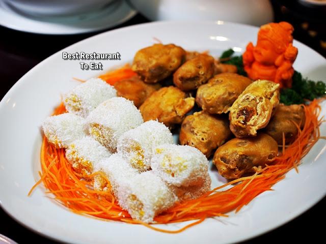 CNY2019 Menu Four Points By Sheraton - Nian Gao and Glutinous Rice Mango Balls