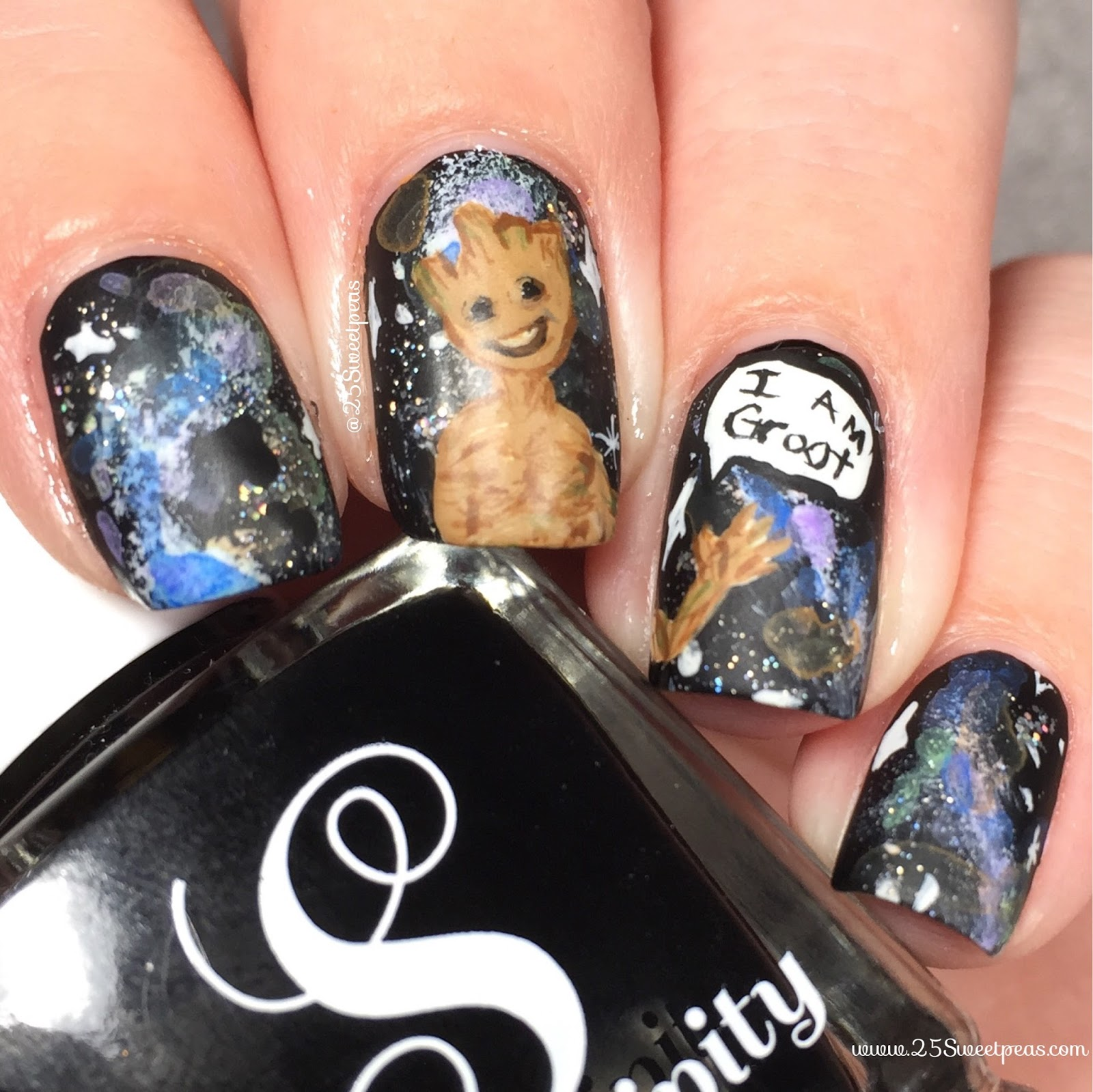 Guardians of the Galaxy Nails